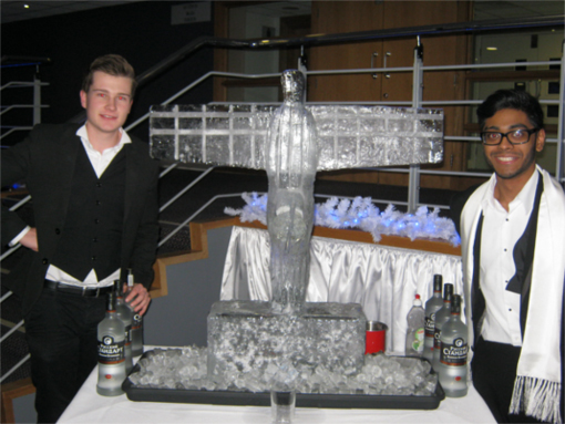 Vodka Ice Luge